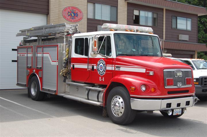 Abbotsford Fire Rescue Service Engine 1