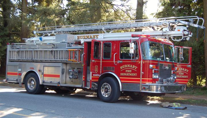 Burnaby Fire Department Engine 3-1