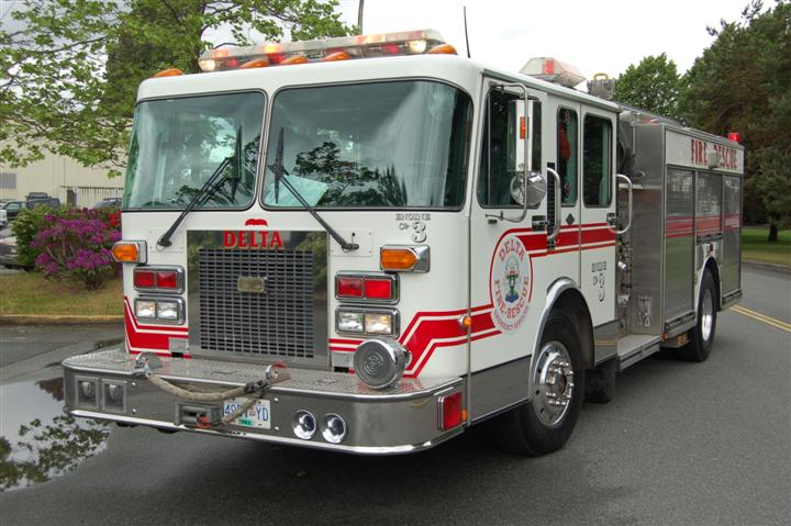 Delta Fire-Rescue Emergency Services Engine 3