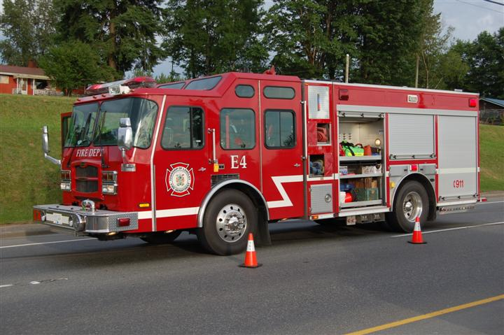 Township of Langley Fire Department Engine 4