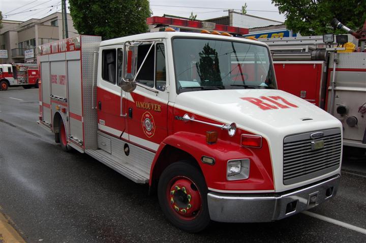 Vancouver Fire Rescue Service Rescue 17