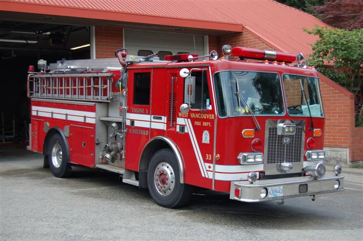West Vancouver Fire Rescue Engine 3