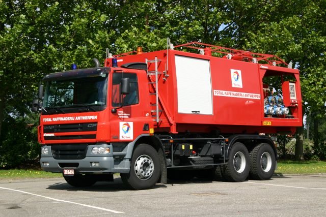 Works Fire briagde Total DAF Prime mover