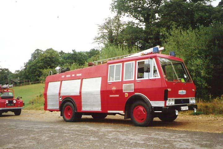 1980 Bedford TKG/CSV/Hcb-Angus Water Tender.