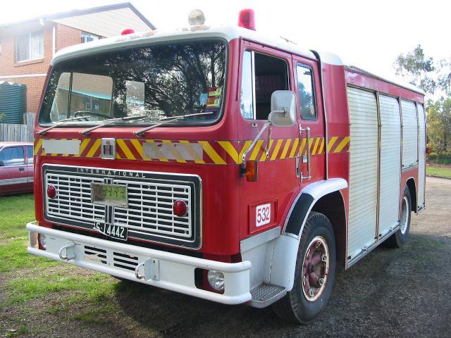 1980 International 1710B Rescue Truck QFS unit 532