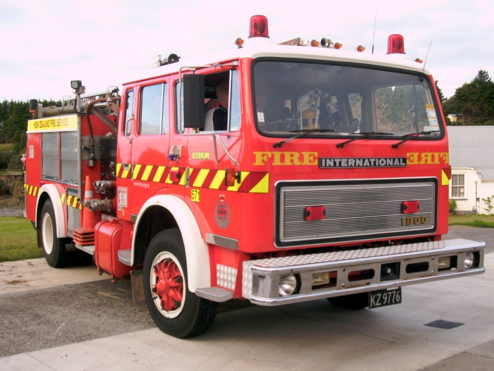 Waiuku Volunteer Fire Brigade - New Zealand