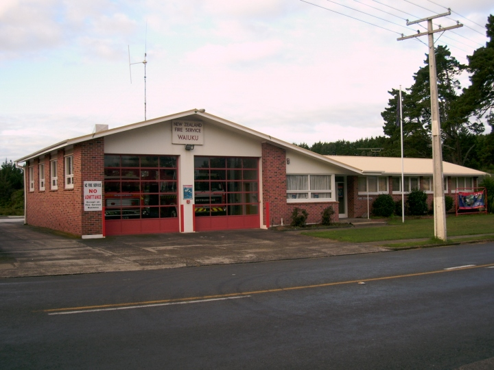 Waiuku Fire Station - New Zealand