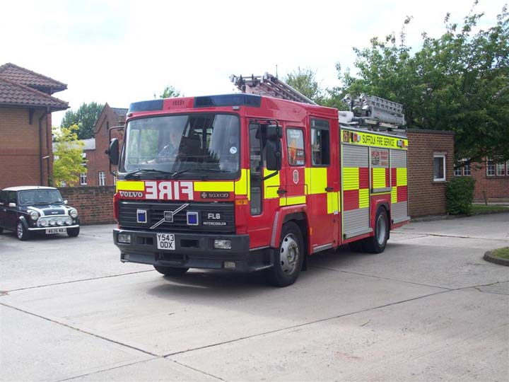 Suffolk Fire and Rescue - Sudbury Y543ODX