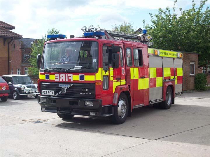 Suffolk Fire and Rescue - Sudbury Volvo Excalibur