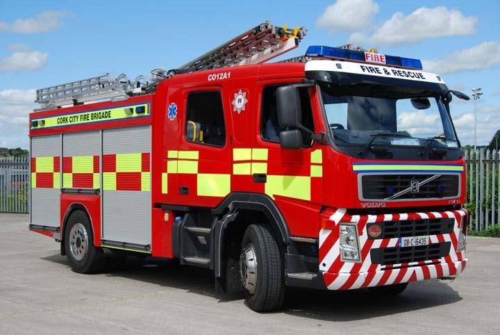 Fire Engines Photos Cork City Fire Brigade Volvo Fm9
