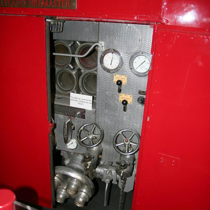 Detail of Leyland Firemaster YGG209