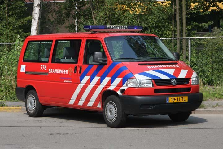 Brandweer Leiderdorp Volkswagen Transporter