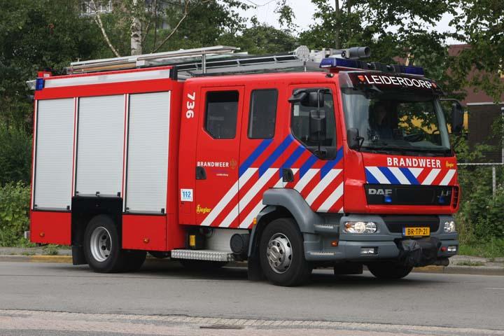Brandweer Leiderdorp DAF LF Watertender