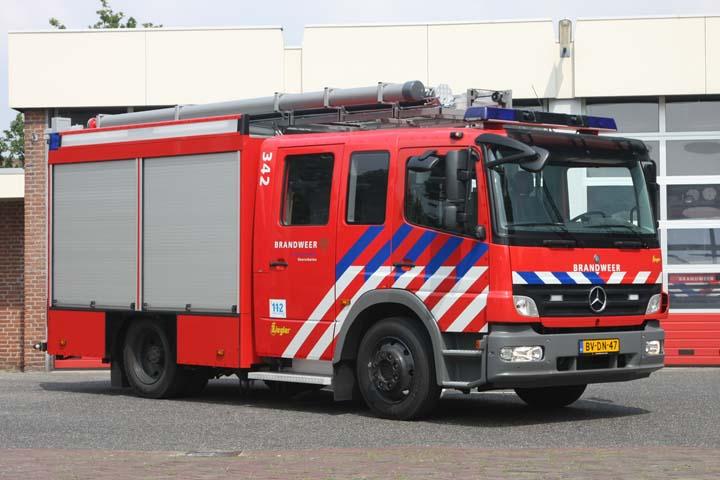 Brandweer Voorschoten Mercedes-Benz Atego