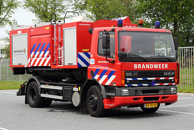Heerenveen DAF Prime mover