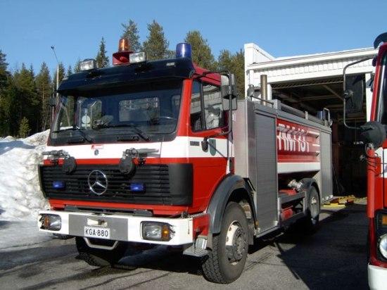 Rovaniemi Mercedes Watertanker