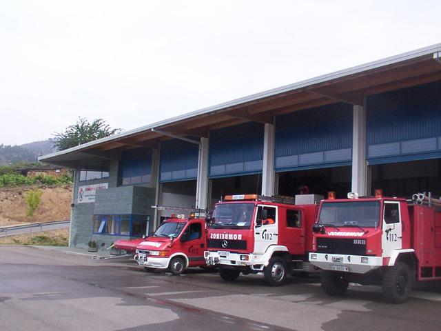 Fire Brigade Valdeorras Spain