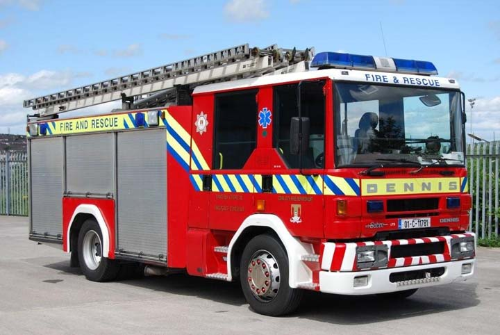 Cork City Fire brigade Dennis Sabre