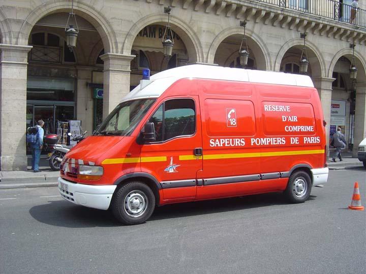 Sapeurs Pompiers de Paris CRAC 8 Renault